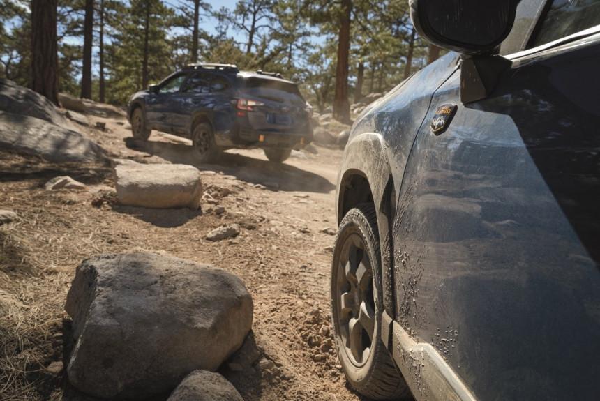 Subaru готовит еще одну модель для бездорожья