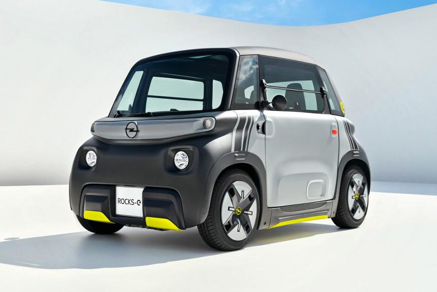 Citroen Ami сменил эмблемы и превратился в Opel Rocks-e