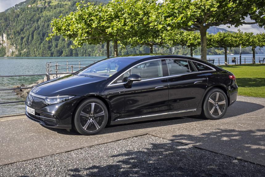 Электромобили Mercedes скоро выйдут на российский рынок