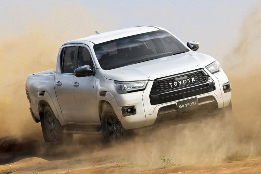 Пикап Toyota Hilux GR Sport станет глобальным