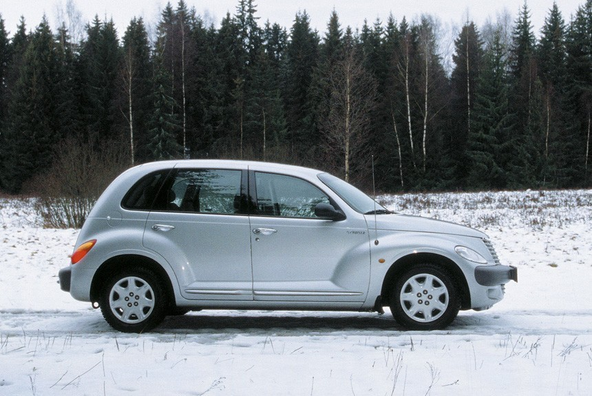 Примерка хэтчбека Chrysler PT Cruiser