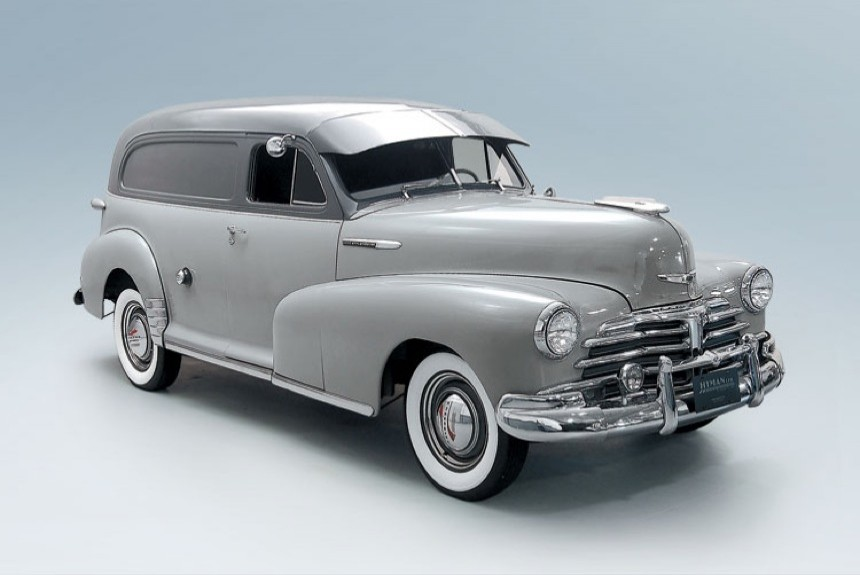 Андрей Хрисанфов о Chevrolet Stylemaster FK Model 1508 Sedan Delivery 1948 года