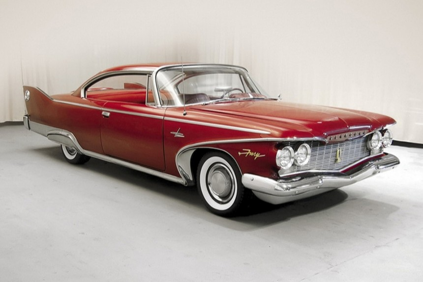 Андрей Хрисанфов об автомобиле Plymouth Fury 1960 года