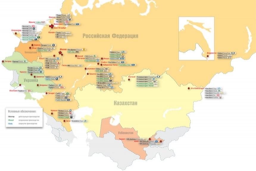 Эффект промсборки: динамика российского автопрома вдвое опережает мировую