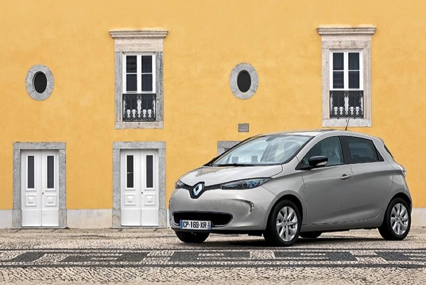 Renault zoe запас хода