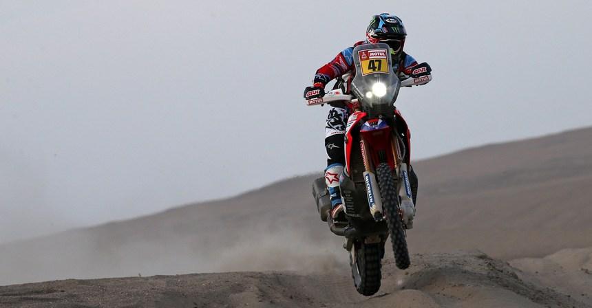Новый лидер гонки в мотозачёте Кевин Бенавидес