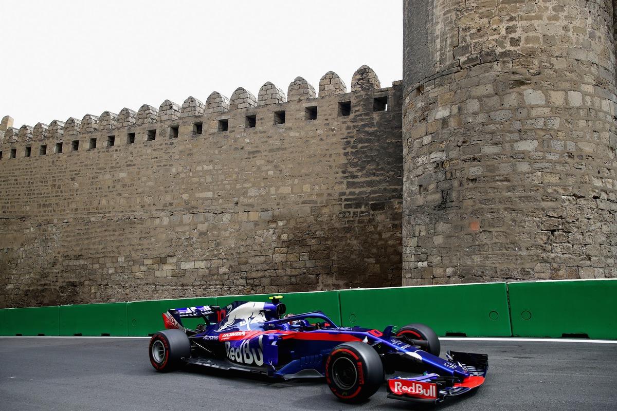 Сироткин разбил болид «Формулы-1» перед Гран-при Азербайджана