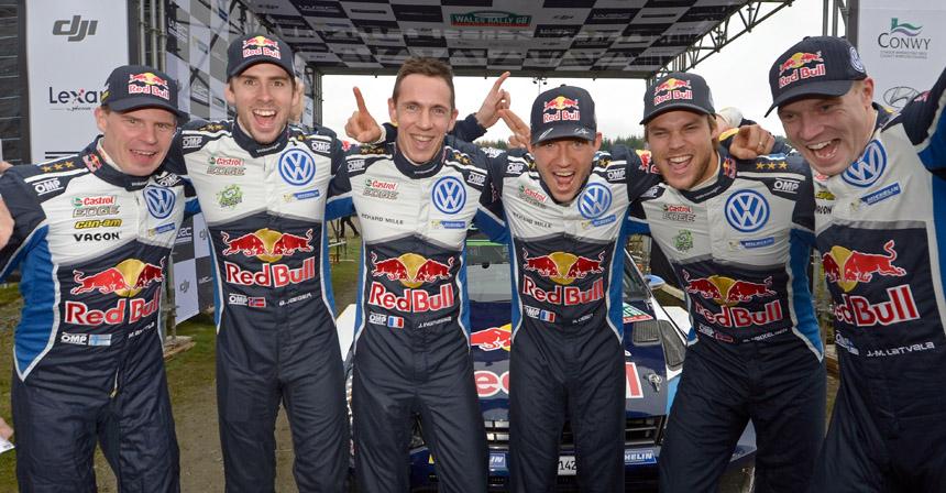 Показан новый Форд Fiesta WRC для ралли