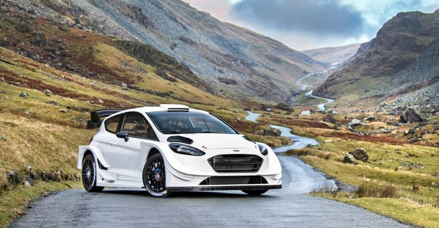 Команда M-Sport рассекретила раллийный Форд Fiesta WRC 2017 года
