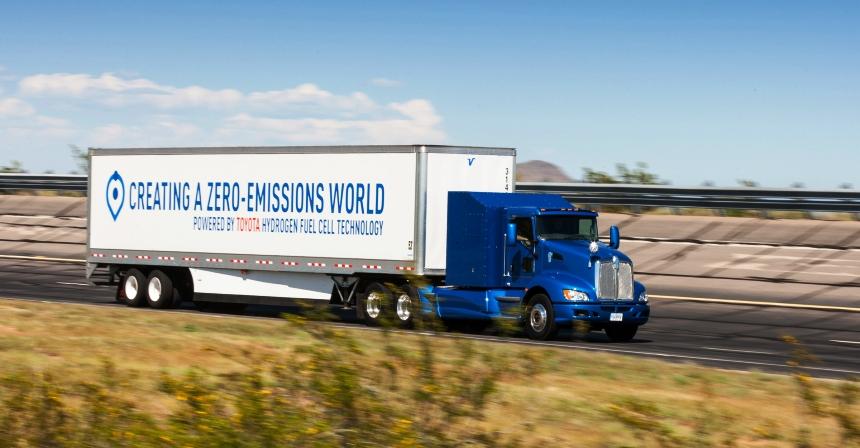 ВСША испытывают фургоны наводородном горючем