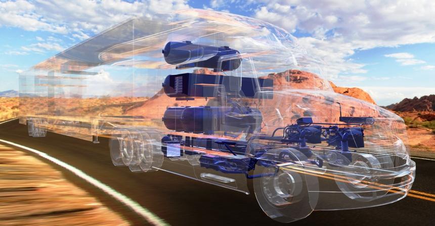 Тойота начнет тестирования водородных фургонов