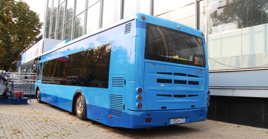 Автобус Вихрь, вид сзади