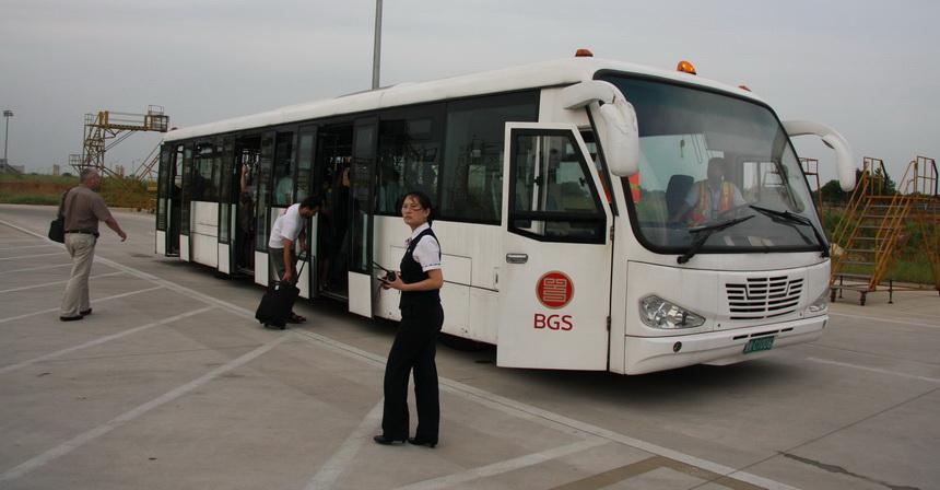 Вуфимском аэропорту появится новый перронный автобус