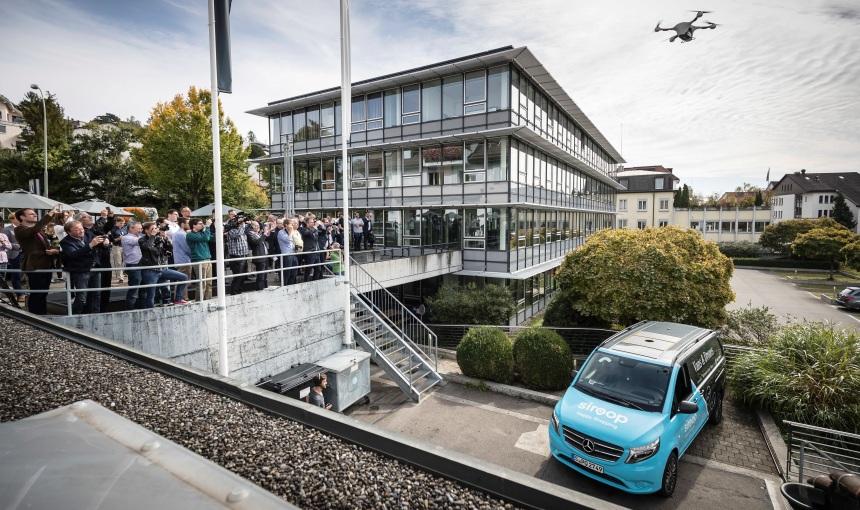 Медучреждения Швейцарии задействовали вдоставке дронов