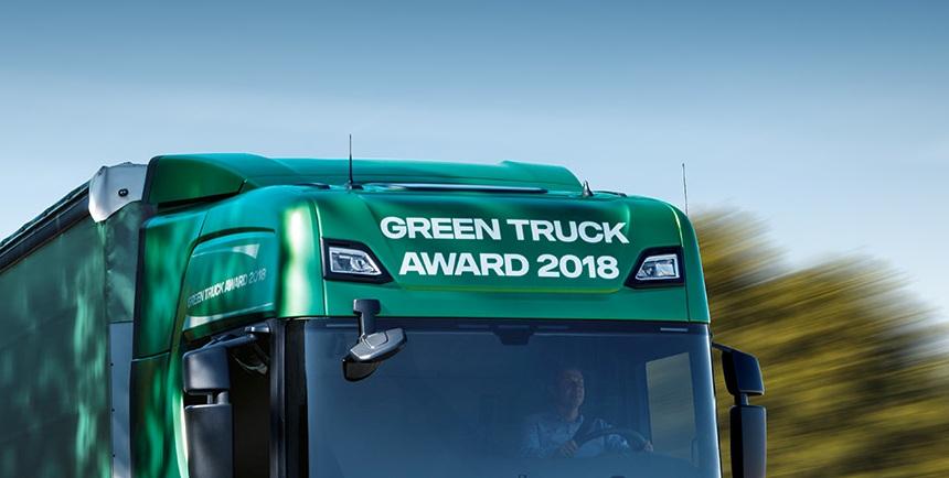 Scania выпустит спецсерию экологичных фургонов — «Зеленые» тягачи