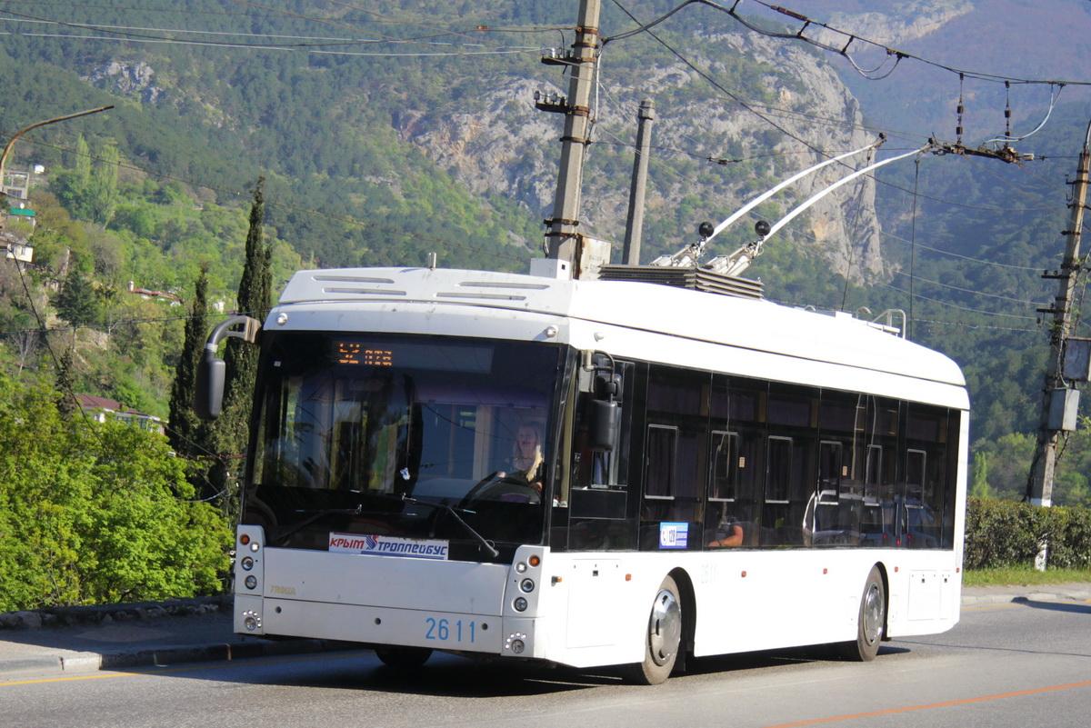 Большинство междугородних троллейбусов теперь Тролзы Мегаполис с увеличенным автономным ходом