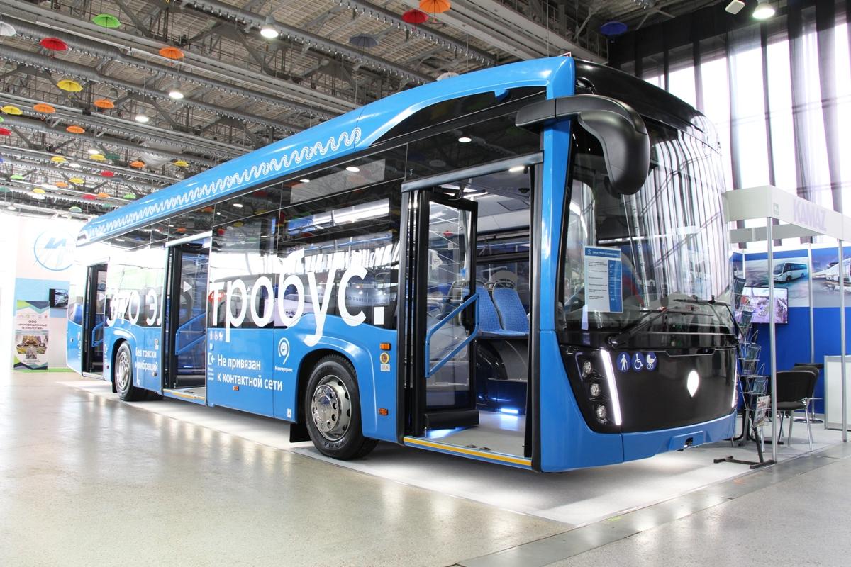 На маршрутах Москвы уже больше сотни электробусов, в том числе и таких КАМАЗов