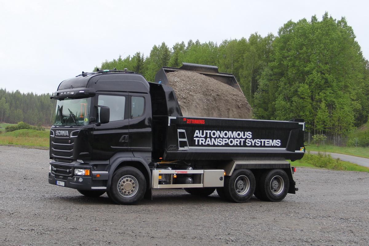 Шведские автономные прототипы: сначала привычная Scania, потом «тележки» Volvo
