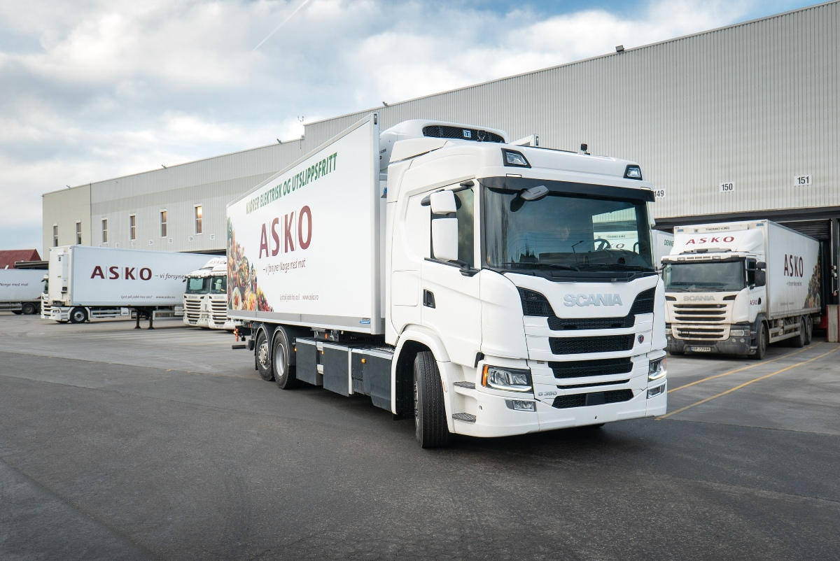 Battery Scania for Norway