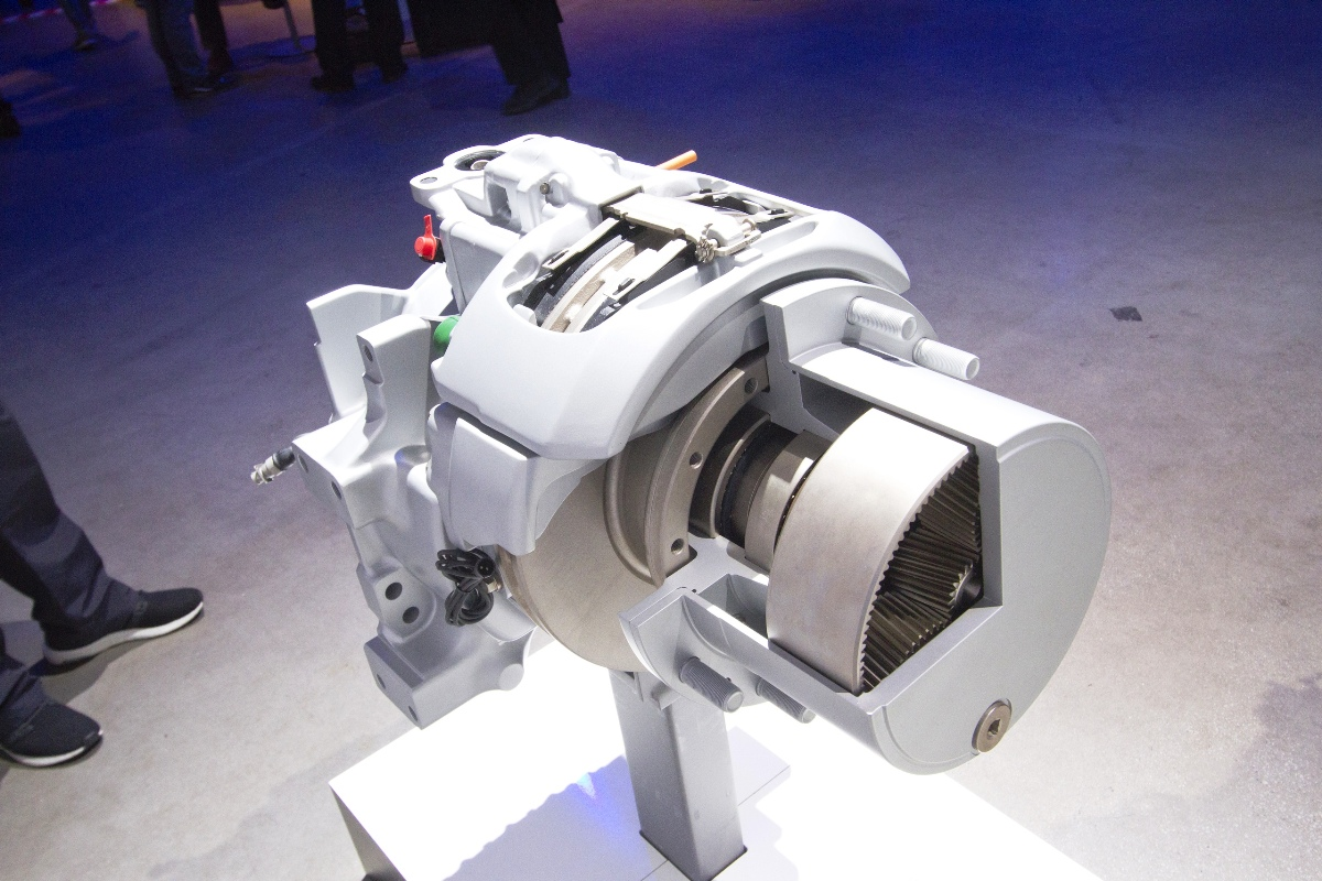 This is what one of the ZF bridge's electric motors looks like...