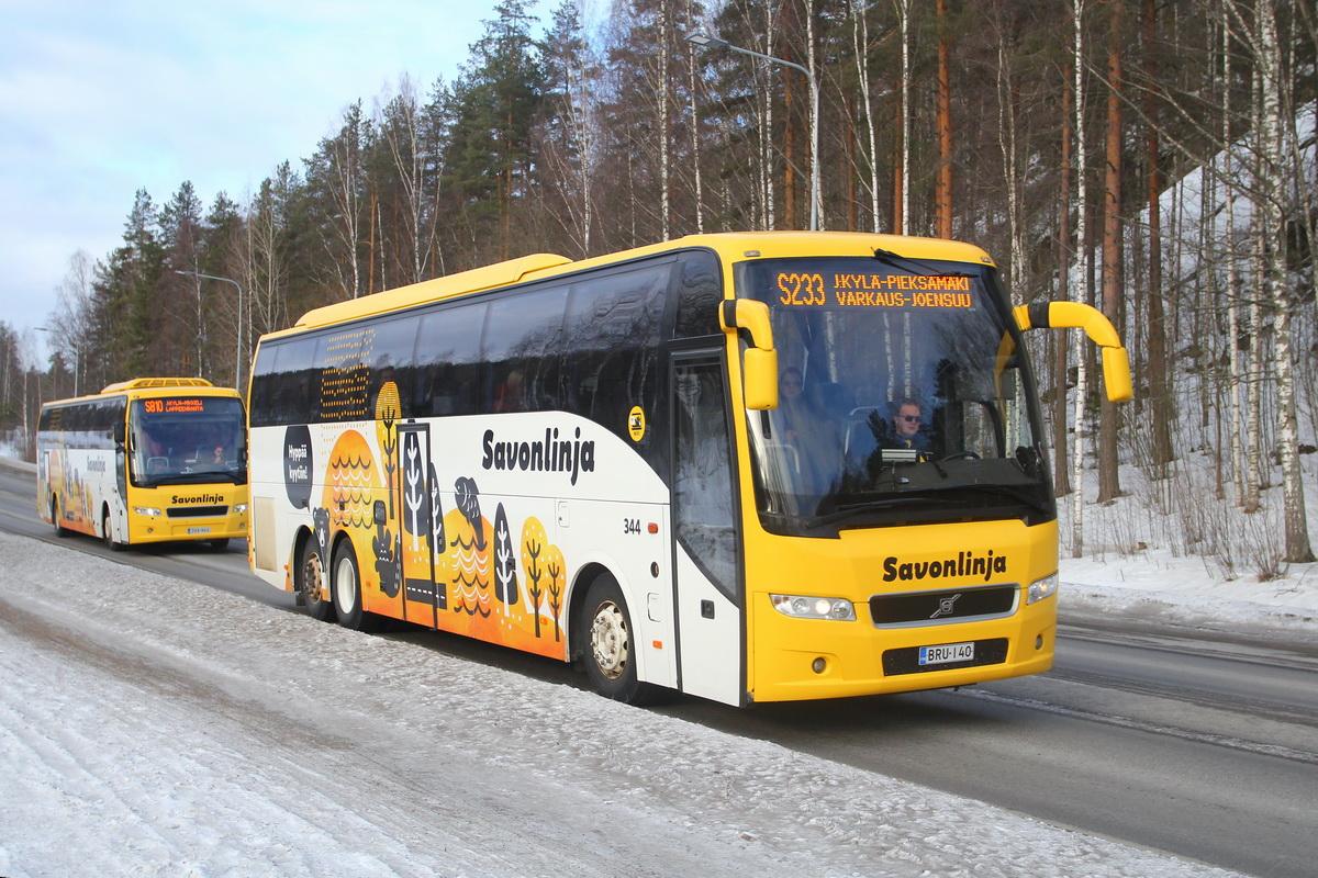У себя на родине, в Финляндии, машины Volvo 9700 очень популярны на междугородних маршрутах