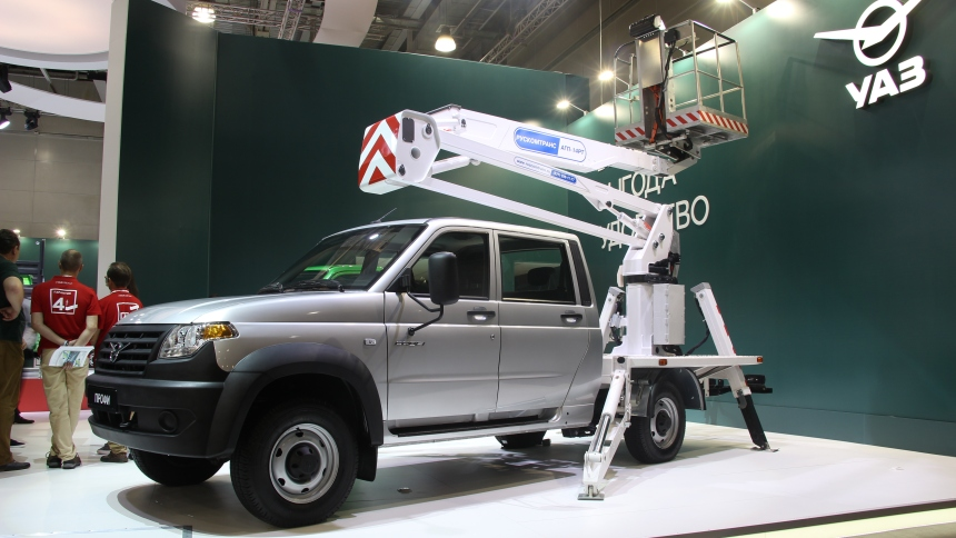 Sales of UAZ Pro polutorok for four months of 2020 fell by almost half: according to the Agency AUTOSTAT, from January to April, 739 such cars were sold
