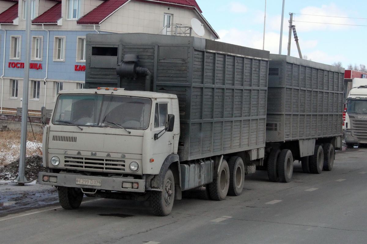 По всей Средней Азии КАМАЗы старых поколений остаются рабочими лошадками