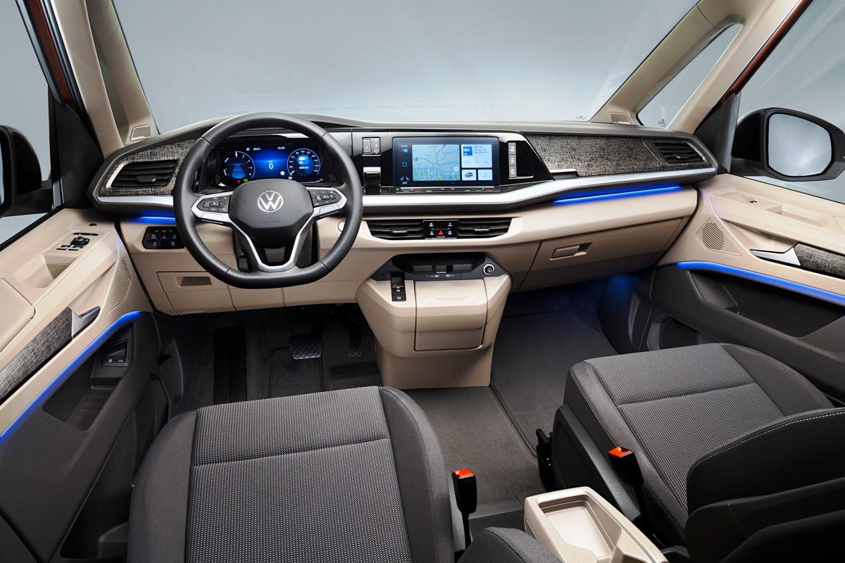 Представлен новый Volkswagen Multivan T7