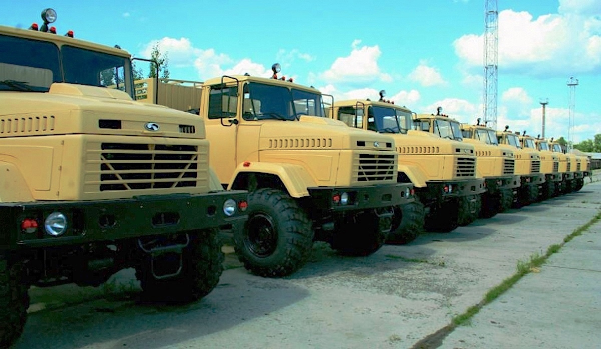 КрАЗ начнет поставку грузовиков для армии США