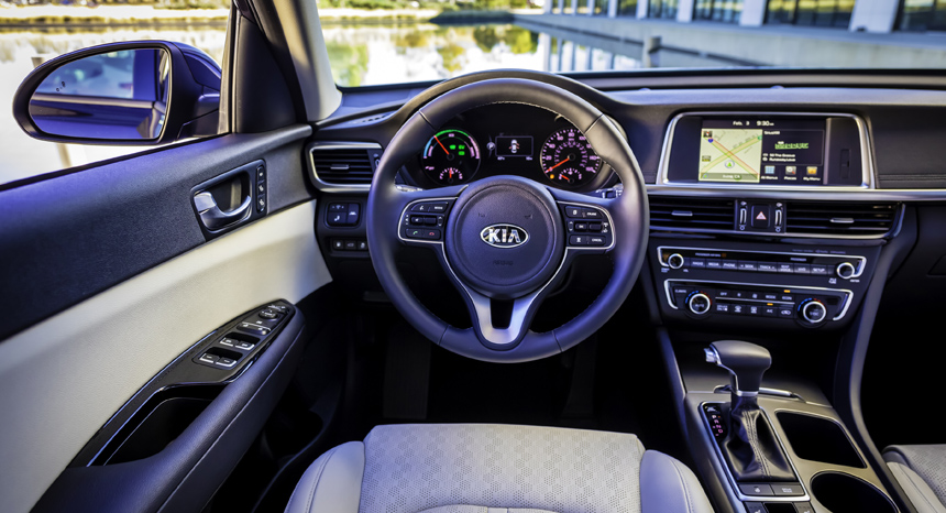 Новая Kia Optima обзавелась сразу двумя гибридными версиями