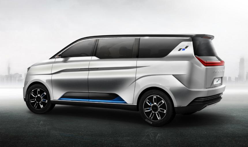 Компания WMotors построила концептуальный фургон Iconiq Seven