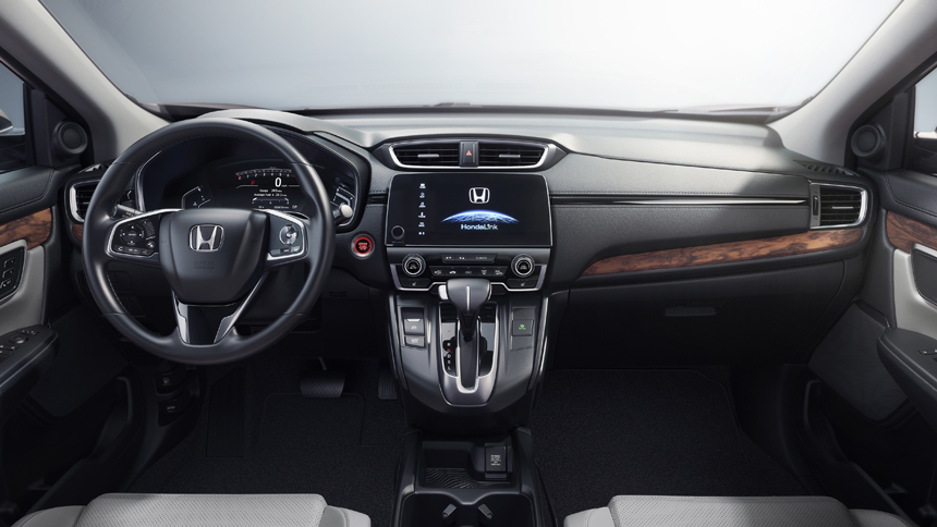 Хонда представила новый кроссовер CR-V