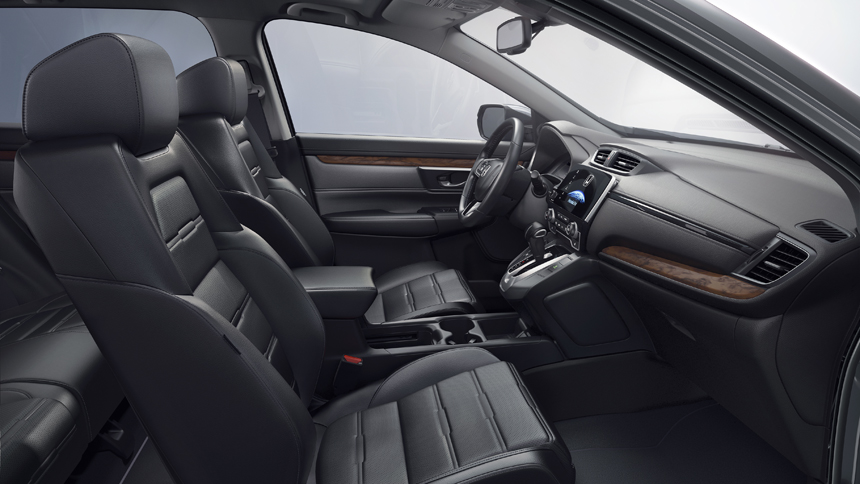 Вседорожный автомобиль Хонда CR-V получил турбодвигатель