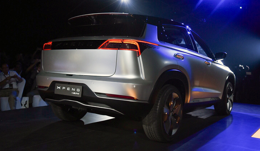 Компания Xiaoping Motors представила электрический кроссовер Xpeng Beta