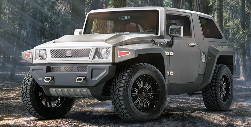 Ussv Rhino Gx >> G. Patton Tomahawk — шестиколесный Jeep Wrangler из Китая