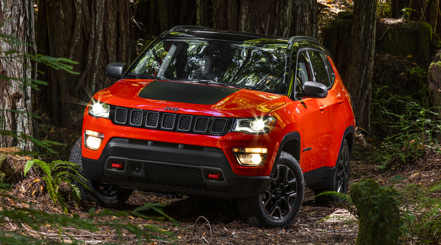 Новый кроссовер от Jeep — Compass