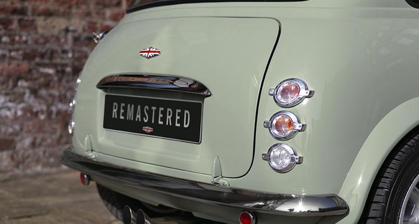 В Англии тюнеры возродили традиционный Мини Remastered