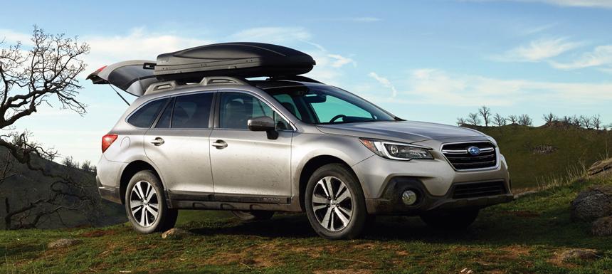 subaru outback2 - Обновленный Subaru Outback: пока не для России