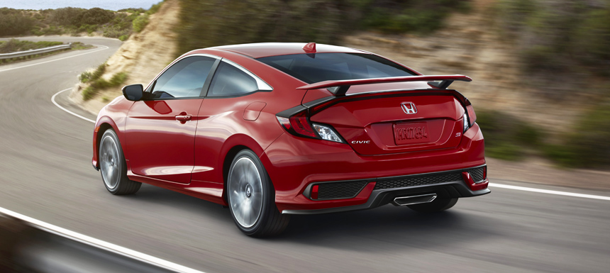 honda civic si2 - Новая Honda Civic Si: умеренный заряд с механической коробкой