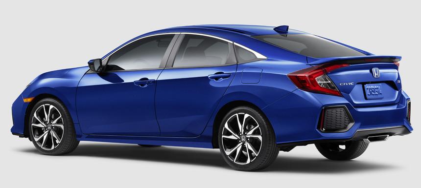 honda civic si3 - Новая Honda Civic Si: умеренный заряд с механической коробкой