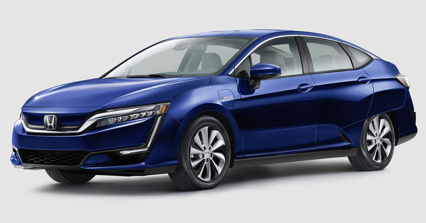 Семейство Honda Clarity пополнится гибридной иэлектрической версией class=