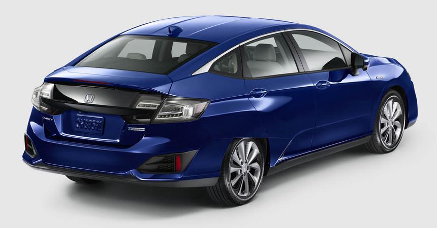 Влинейке Хонда Clarity появятся гибридная иэлектрическая версии
