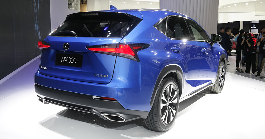 Обновленный паркетник Lexus NX: новая подвеска и инфляция