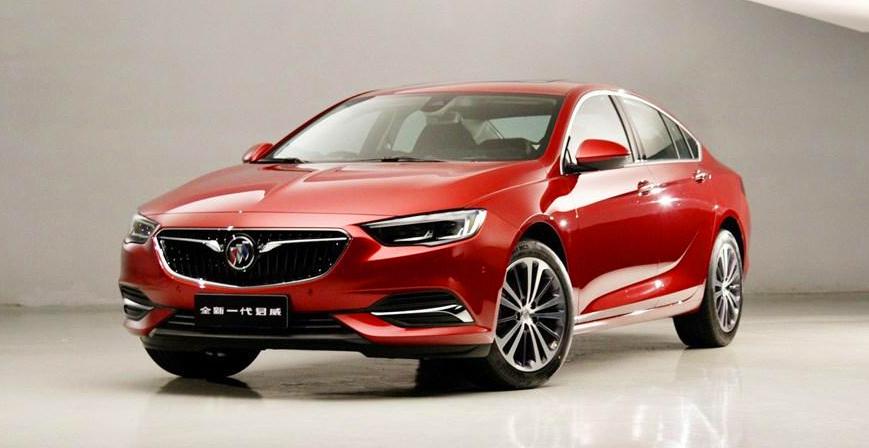 Дженерал моторс сделал из новейшей Insignia седан для Китая