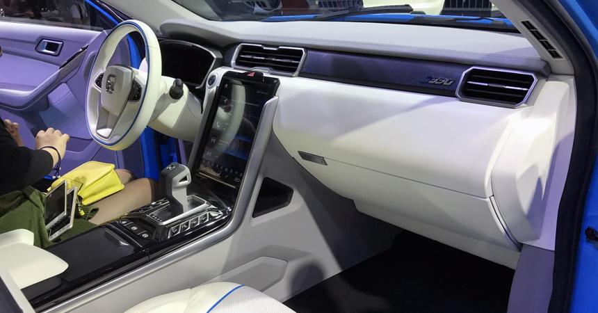 ВКитайской республике дебютировал новый кроссовер Yusheng S330