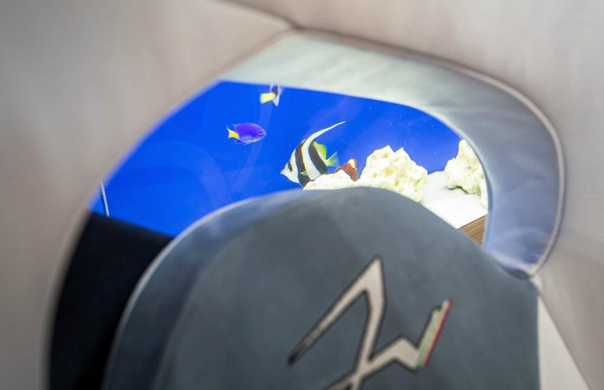 Компания Frangivento презентовала гиперкар Asfanè Charlotte саквариумом