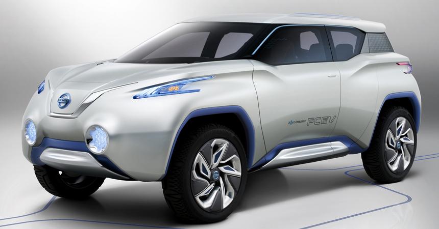Nissan построит электрокроссовер наплатформе Nissan Leaf