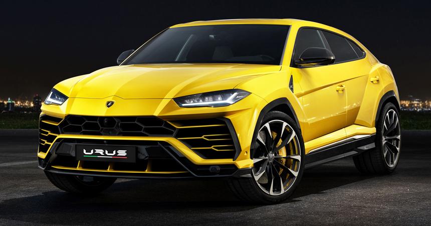 Lamborghini презентовала самый высокоскоростной вмире кроссовер