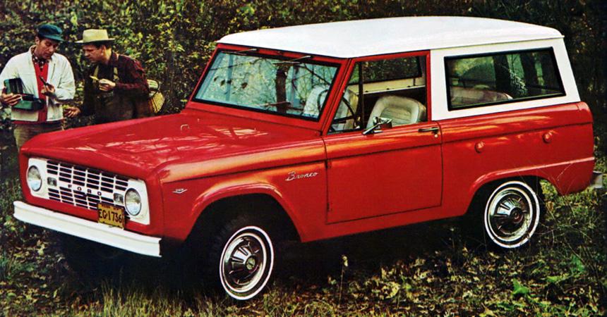 Новый Форд  Bronco: запущен встречный  отчёт&nbsp
