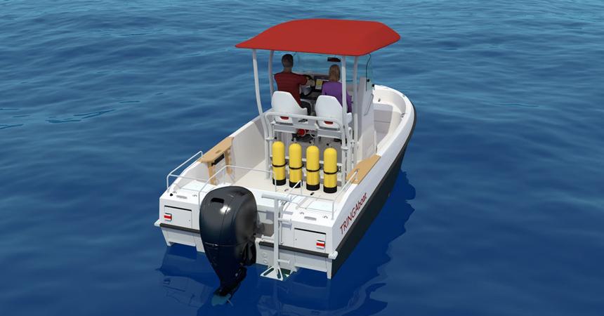 Моторная лодка Tringa — для дорог общего пользования